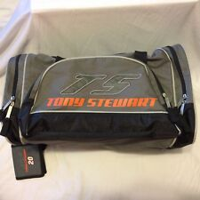 "Tony Stewart 18"" Duffle Bag Shoulder Strap Hand Luggage Tag VGUC #20 NASCAR"
