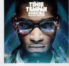 (EL387) Tinie Tempah, Invincible ft Kelly Rowland - 2010 DJ CD