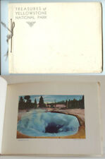 VINTAGE RARE WEST SCENICS: Treasures of Yellowstone Park by Haynes Tinted Photos