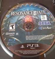 Rare Resonance Of Fate Sony Ps4 Playstation 4 Disc Only Video Game very Good