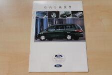 75709) Ford Galaxy Prospekt 08/1997