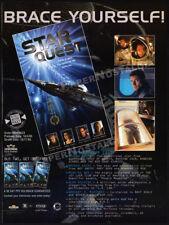 STAR QUEST__Orig. 1995 Trade print AD __STEVEN BAUER__EMMA SAMMS__BRENDA BAKKE