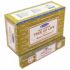 Satya Nag Champa Tree of Life Incense Sticks Agarbatti 180 Grams Box | 12 Packs