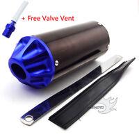 Blue 28mm Aluminum Exhaust Muffler For 50 110 125cc CRF50 XR50 Pit Pro Dirt Bike