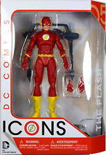 DC Collectibles ~ FLASH w/TREADMILL ACTION FIGURE ~ DC Comics Icons