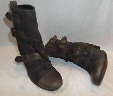 AllSaints Zip Cuban Heel Boots for Women
