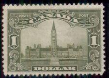 CANADA #159 $1.00 olive green, og, VLH, VF, Scott $300.00