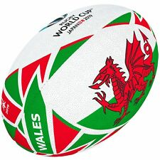 Gilbert Rugby Ball - World Cup 2019 Flag Wales (Gr. 5)