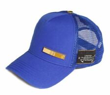 Red Monkey 18K Side Bar Snapback Cap Hat Navy Blue RM1166N