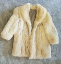 Beautiful Custom Made Fox Fur Coat size L