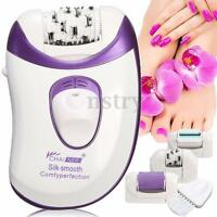 4 in 1 Body Leg Face Electric Callus Remover Epilator Tweezer Hair Shaver Razor