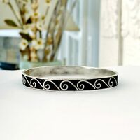 TAXCO Sterling Silver 925 LOS BALLESTEROS Stack Stacking Mexico Bangle Bracelet