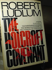 Robert Ludlum, The Holcroft Covenant, Signed, 1st Edition,1st Edition, Like New