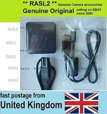Original SONY USB Charger + USB Cable CyberShot DSC-H400 DSC-W830 DSC- W820 W810