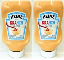 (Pack of 2) Heinz Kranch Saucy Sauce 19 oz