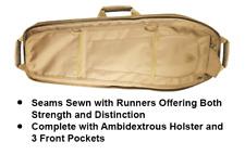 "Tan 34"" Alpha Battle Carrier Sling Backpack Gun Case Firearm Pack, FDE Hunting"