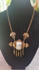 ANTIQUE Necklace  Art Deco or Victorian Jewelry  16 in long