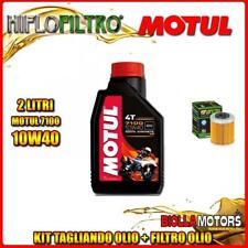 KIT TAGLIANDO 2LT OLIO MOTUL 7100 10W40 KTM 690 Enduro R 1st Oil Filter 690CC 20
