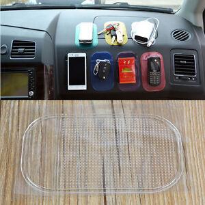 Car Grip Pad Non Slip Sticky Mat Anti Slide Dash Cell Phone Holder Black New