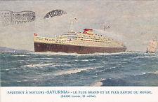 * Navi passeggere  - Cosulich Line - Saturnia 1929