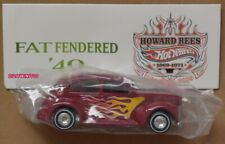 HOT WHEELS 6TH ANNUAL NATIONALS FAT FENDERED '40 NEWSLETTER HOWARD REES RED