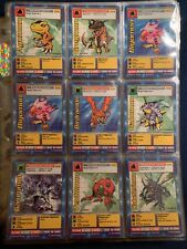 Vintage Digimon Bandai Card lot 1st editions 1999 X72