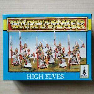 High Elves Spears Archers (X10) Boxed Warhammer Fantasy Plastic New On Sprue