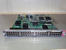 CISCO WS-X6748-GE-TX Cat6500 48-port 10/100/1000 GE Modul +WS-C6700-CFC
