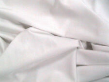 White Lycra/Spandex Stretch Dance/Dress/Sport Fabric150cm Wide FREE P+P