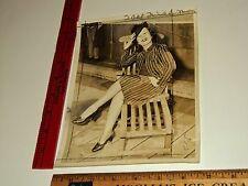 Rare Historical Original VTG Ballet Spanish Dancer Delores L. Photo Still