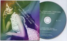 FLORENCE + THE MACHINE & CALVIN HARRIS Spectrum UK 2-trk promo CD card sleeve
