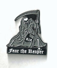 FEAR THE REAPER - HAT PIN / RUBBER BACK