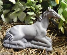 latex only small resting horse mold  concrete plaster garden mold mould
