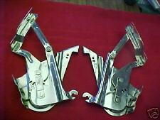 1957 57 CHEVY CHEVROLET HOOD HINGES,POLISHED, PR, NEW