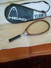 Head TiS8 Titanium Tennis Racket With Case, Xtralong, In Great Condition!