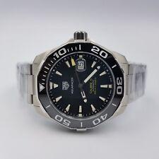 NEW TAG Heuer Aquaracer Calibre 5 Automatic Watch - WAY201A.BA0927 - Warranty