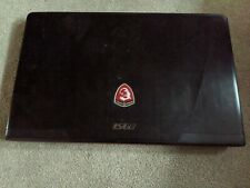 MSI Notebook GE60 APACHE PRO The backplate and fan are missing, still works well