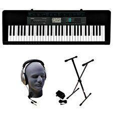 61-Key Premium Keyboard Pack with Stand, Headphones and Power Supply