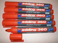 5 pcs Edding 360 Board Marker Red 1,5 -3mm boardmarker Pencils for Whiteboard