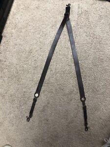 Nocona Belt Leather Mens Western Suspenders Galluses Medium 8513402 M Brown
