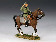 King & Country FOB056 Wehrmacht Officer On Horseback (RETIRED)