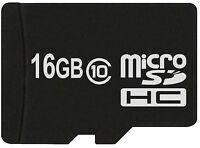 16 GB MicroSDHC Class 10 MicroSD Speicherkarte 16GB kompatibel mit HTC HD mini