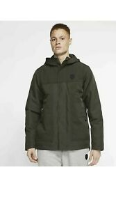 Nike Men's Lebron Jacket Protect Sequoia Loose Fit Therma SAT3902-355 Mens Large