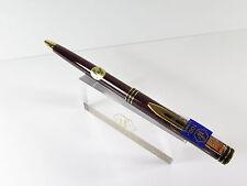 Waterman Exclusive laque rojo jaspeado bolígrafos, sin usar