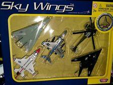 Motor Max Lockheed Martin Sky Wings Planes 5-Pack 76343