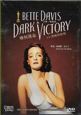Dark Victory DVD Bette Davis George Brent Humphrey Bogart NEW 1939 B&W R0