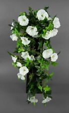 Petunienranke 65cm weiß ZF Kunstpflanzen künstliche Petunie Pflanzen Kunstblumen
