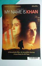 MY NAME IS KHAN KAJOL COVER ART MINI POSTER BACKER CARD (NOT a movie)