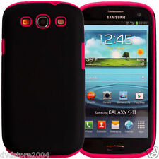 Custodia IBRIDA FUCSIA per Samsung Galaxy S3 I9300 I9300I NEO I9305 Cover Bumper
