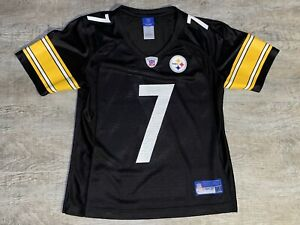 Reebok Pittsburgh Steelers Ben Roethlisberger NFL Football Jersey Women's Small